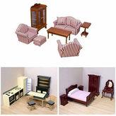 Melissa & Doug 32-pc Doll House Furniture Bundle