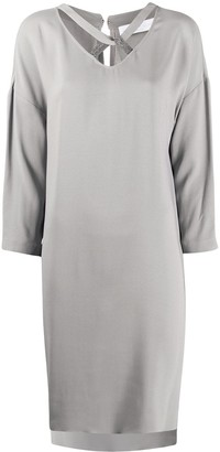 Fabiana Filippi Twist Detail Shift Dress