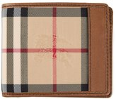 Burberry 'Horseferry Check' ID wallet - men - Leather/Polyamide - One Size