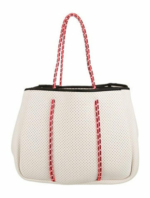 Annabel Ingall Neoprene Laser Cut Tote gold