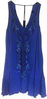 Free People Blue Synthetic Dresses