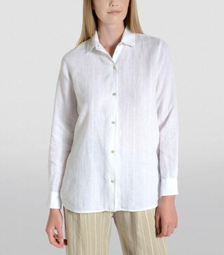120% Lino Classic Striped Shirt