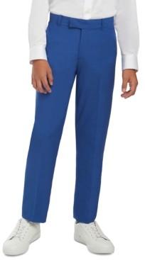 Calvin Klein Big Boys Solid Textured Weave Dress Pants