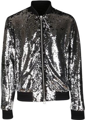 Golden Goose Silver-tone Cotton Jacket