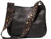 Ralph Lauren Studded Leather Hobo Bag