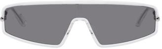 Christian Dior Grey Transparent DiorMercure Sunglasses