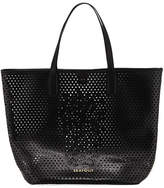 Seafolly Carried Away Pineapple Vegan-Leather Tote Bag