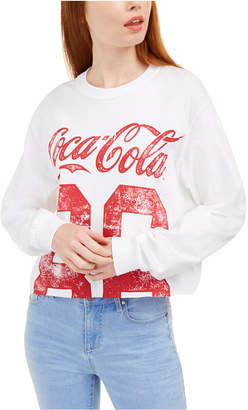 Love Tribe Juniors' Cotton Coca-Cola Graphic Top
