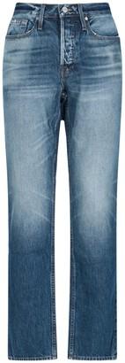 Frame Heritage Mid-Rise Slim Jeans