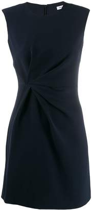 P.A.R.O.S.H. twist-front sleeveless dress