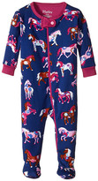 Hatley Horses & Flowers Footed Coverall (Infant)