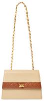Chanel Vintage Beige Lambskin Trapezoid