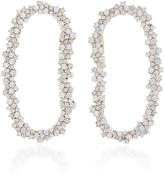 Ana Khouri 18K White Gold Diamond Mia Earrings