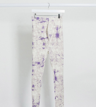Missguided Maternity co-ord tie dye leggings