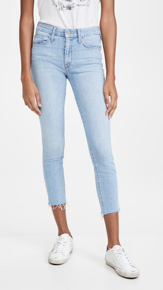 Mother The Looker Ankle Snippet Jeans