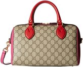 Gucci Bowling Bag-Pink/Red