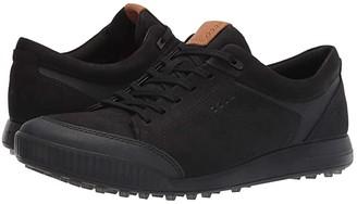 Ecco Street Retro LX (Black) Men's Golf Shoes