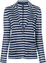 Woolrich striped knit blazer