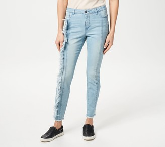 Women With Control My Wonder Denim Tall Jeans w/ Fray Detail