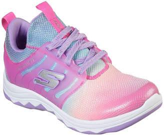 Skechers Diamond Runner Little Kids Girls Lace-up Sneakers