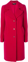Twin-Set single breasted coat - women - Polyamide/Polyester/Wool - 38