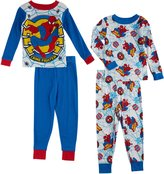 Marvel Boys Spiderman Crime Fighter 4 Piece Cotton Set