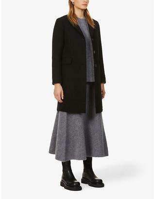 Eleventy Single-breasted wool coat