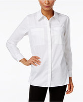 Style&Co. Style & Co. Pocketed High-Low Shirt, Only at Macy's