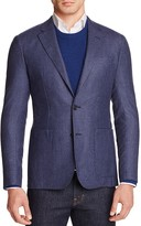Hardy Amies Micro Check Slim Fit Sport Coat