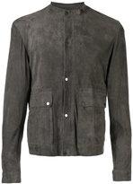 Salvatore Santoro - buttoned jacket - men - Leather - 48