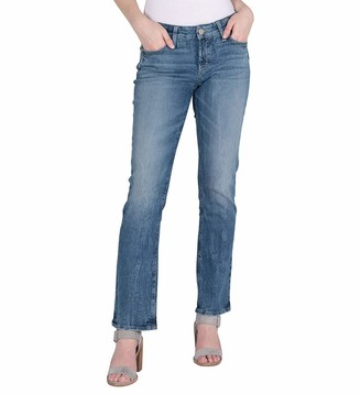 Silver Jeans Co. Silver Jeans Women's Elyse Relaxed Fit Mid Rise Slim Bootcut Jeans Pants