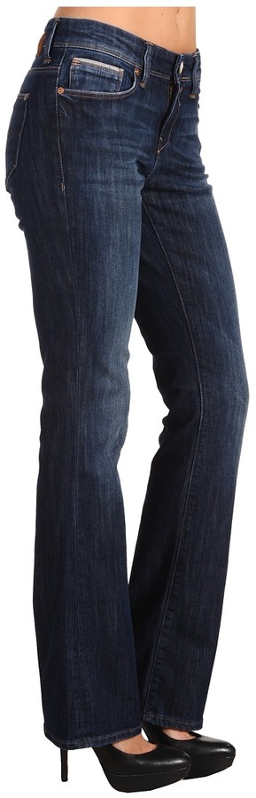 Mavi Jeans Molly Mid-Rise Bootcut in Indigo Bloomsbury