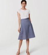 LOFT Petite Eyelet Skirt