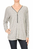 Freeloader Zip Front Tunic