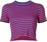 Proenza Schouler striped knit top - women - Silk/Cashmere - M