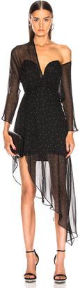 Mason by Michelle Mason Bustier Off Shoulder Dress in Black | FWRD