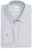 Paul Smith Moon Jacquard Trim Fit Dress Shirt