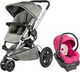 Quinny Buzz Xtra Mico AP Travel System - Red Rumor - Bright Rose