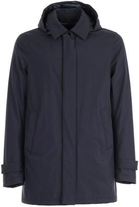 Herno Coat Long W/detachable Hood