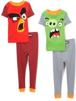 Komar Kids Angry Birds Four-Piece Pajama Set - Boys