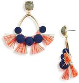 BaubleBar Melina Hoop Earrings