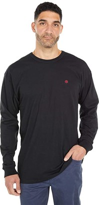 Vans X Kyle Walker Off The Wall Custom Long Sleeve Tee (Black) Men's Clothing