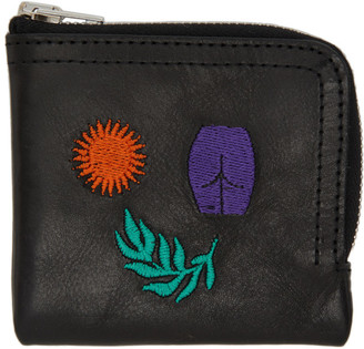 Carne Bollente Black Sun, Leaves and Ass Wallet