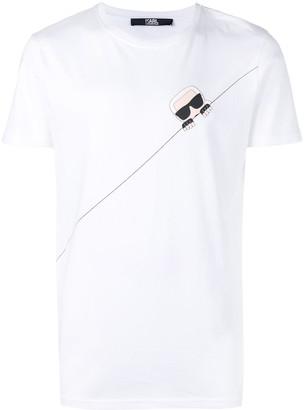 Karl Lagerfeld Paris Ikonik Seam T-Shirt