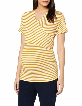 Dorothy Perkins Maternity Women's Ballet WRAP Stripe Maternity Blouse