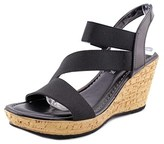 Easy Street Shoes Piceno Women Open Toe Synthetic Wedge Sandal.