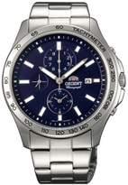Orient Men's 42mm Steel Bracelet & Case Quartz Dial Watch FTT0X002D