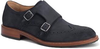 Trask Leland Double Monk Strap Shoe