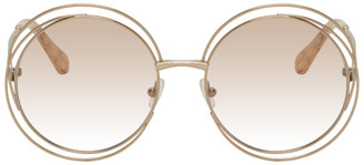 Chloé Rose Gold Carlina Sunglasses