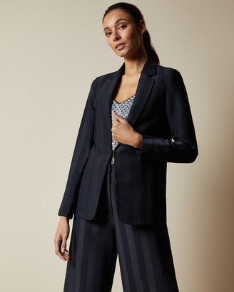 Ted Baker DARYAA Satin striped blazer